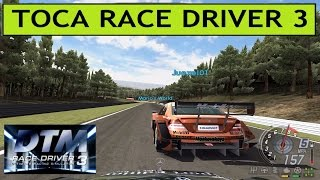 DTM RACE DRIVER 3, PC GAMEPLAY, Tunngle Online Racing at SPA
