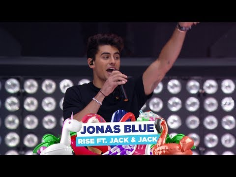 Jonas Blue - 'Rise feat Jack & Jack'  at Capital's Summertime Ball 2018