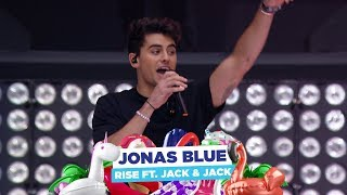 Gambar cover Jonas Blue - 'Rise feat Jack & Jack' (live at Capital's Summertime Ball 2018)