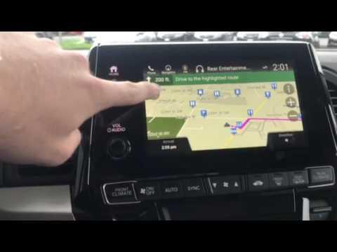 2018 Honda Odyssey Navigation Intro