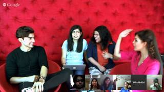 #MMHangouts with Gurmeet Choudhary and Debina Bonnerjee