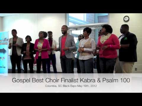 Columbia Black Expo Gospel Audition Kabra & Psalm 100 audition