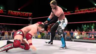WWE 2K16: Alex Shelley vs. AJ Styles (PS4)