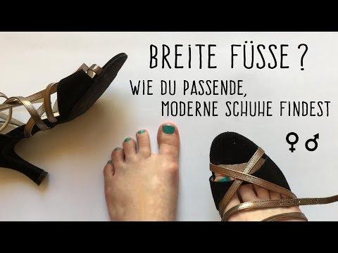 Breite Füße? Schuhweite herausfinden & moderne, weite Schuhe finden