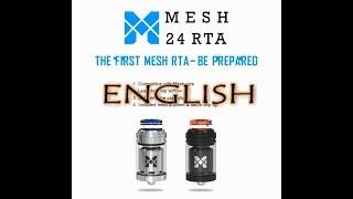 VandyVape - The Mesh RTA Build/Wick HD by TheVapingPharoah - English