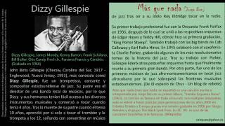 Mas que nada (Jorge Ben) - Dizzy Gillespie