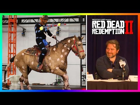 How Red Dead Redemption 2 Was MADE: Behind The Scenes With Arthur Morgan & Dutch Van Der Linde!