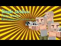 SIMPLE SANDBOX FUNNY MOMENTS W/ LIAMPLAYS 634 AND SHARKYDANUB. (Skydiving fails, liam crashed,perry)
