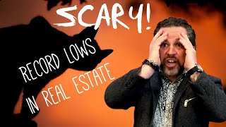 Record Lows Hit Real Estate!