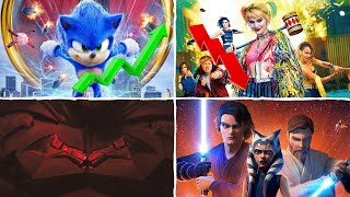 Sonic Breaks Box Office Records While Birds Of Prey Fails, The Batman Reveal, and More!