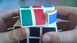 как собрать цилиндр рубика, самые простые формулы.