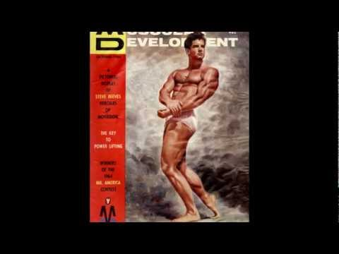 Steve Reeves talks about steroids in bodybuilding.