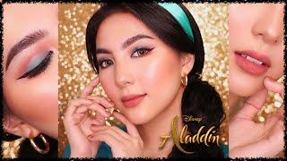 Princess Jasmine Makeup Tutorial 👑#DevDisneySeries   ALADDIN 2019