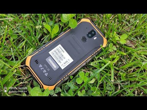"""DOOGEE S40 Реальная распаковка лучшего """"бюджетника"""" с NFC,ip68"""