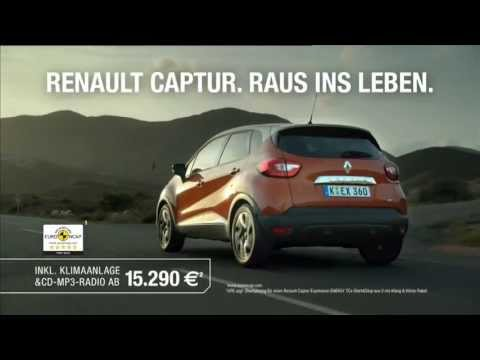 renault captur werbung 2013 youtube. Black Bedroom Furniture Sets. Home Design Ideas
