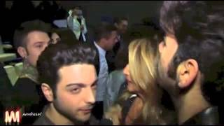 Il Volo on Emporio Armani Fashion Show - interview