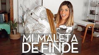 LA MALETA PERFECTA PARA UN FINDE! | Trendy Taste