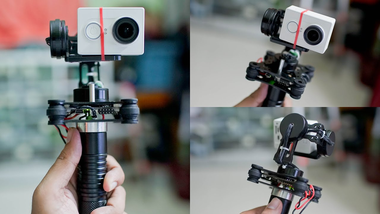 how to build a 3 axis gimbal