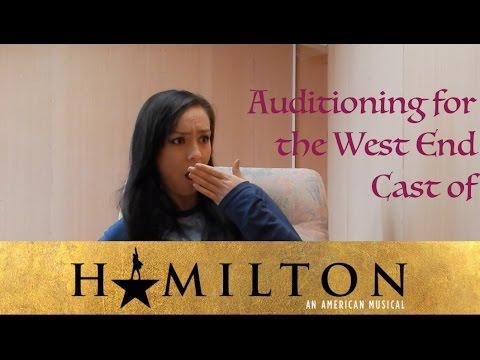 Auditioning for Hamilton → UK Cast