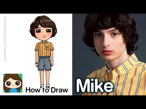 How to Draw Mike Wheeler | Stranger Things