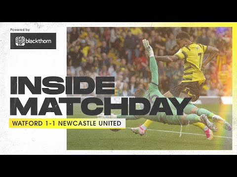 The BEST Goal Celebration That Never Was 🥺 | Inside Matchday | Watford 1-1 Newcastle United
