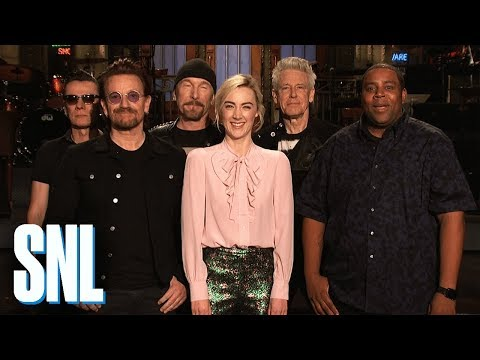 Saoirse Ronan and U2 Can't Understand Kenan Thompson - SNL