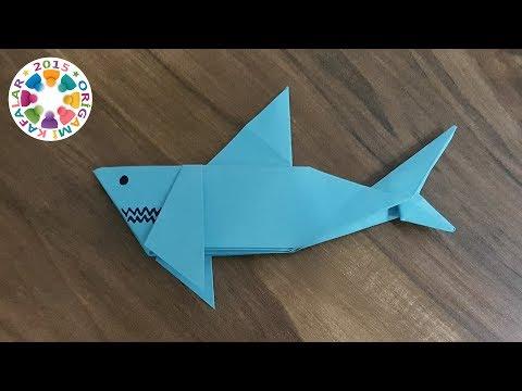 Origami Köpek Balığı (Origami Shark)