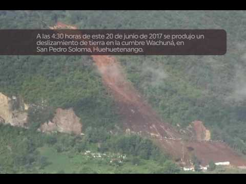 Deslave San Pedro Soloma, Huehuetenango  jun 2017
