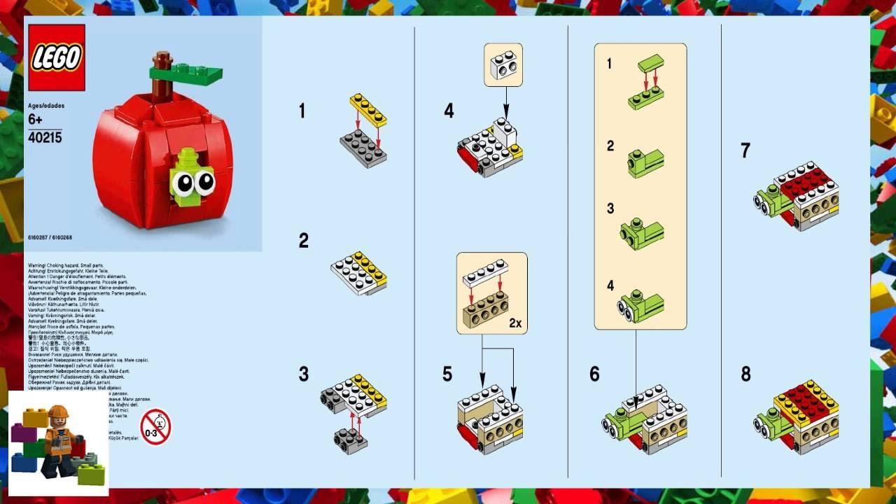 Lego Creator Apple  40215 ~NEW~ Mini Build