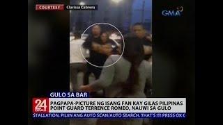 Pagpapa-picture ng isang fan kay Gilas Pilipinas point guard Terrence Romeo, nauwi sa gulo