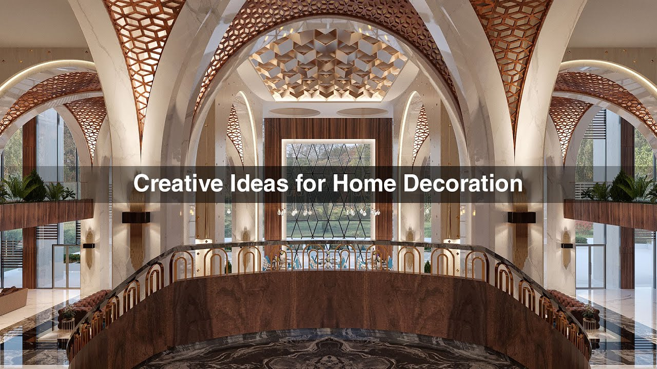Creative ideas for home interiors by algedra interior Creative interior design