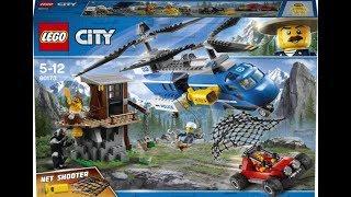 Обзор Погоня в горах 60173 Горная полиция Лего сити
