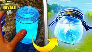 Fortnite: Battle Royale Items In Real Life - Slurp Juice, Mini Shield, Big Shield & More!