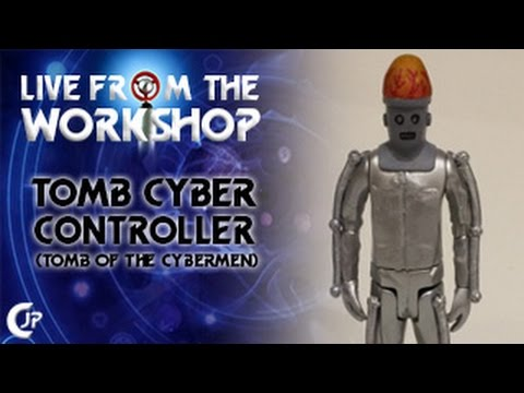 Live From The Workshop : Tomb Cyber Controller (Tomb Of The Cybermen)