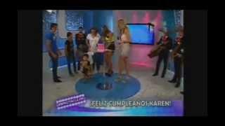 karen schwarz lloro por su cumpleaos en vivo frecuencia latina