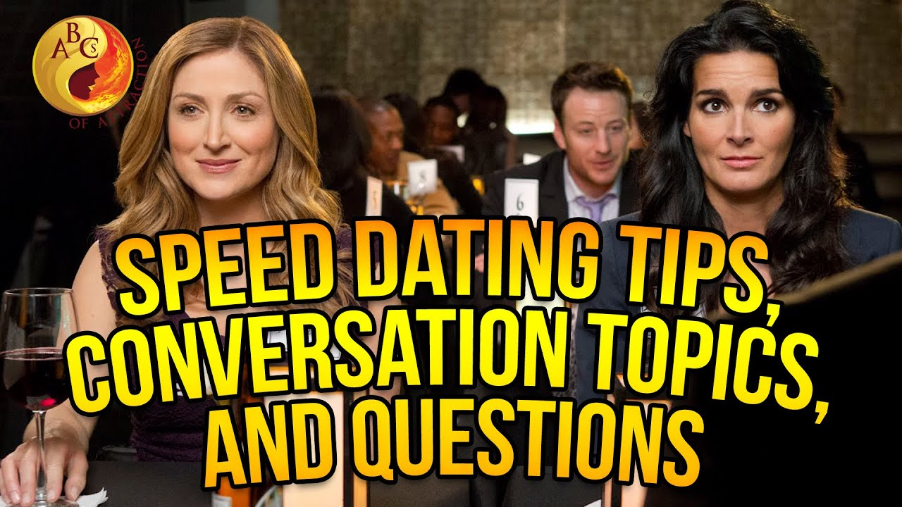 Speed dating questions ask