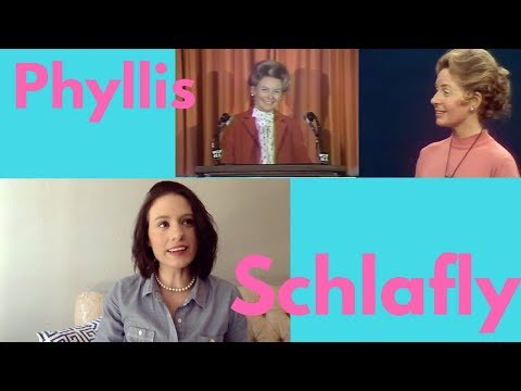 Phyllis Schlafly: From another Traditionalist Anti Feminist Perspective