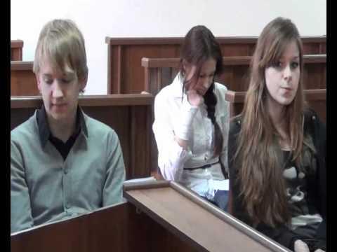судебный процесс сценка