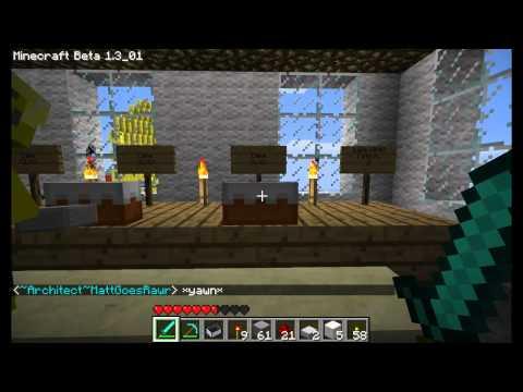 Minecraft Museum tour