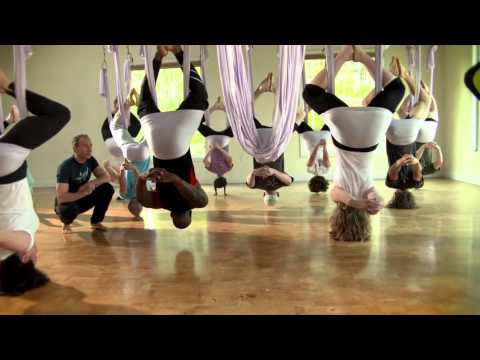 AntiGravity® Aerial Yoga on Trends with Benefits