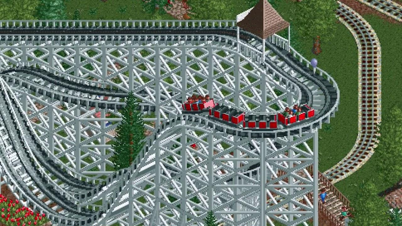 เกมรถไฟเหาะ RollerCoaster Tycoon Classic ลงพีซี Steam แล้ว