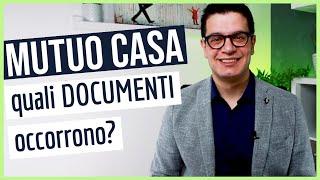 CHIEDERE UN MUTUO: I Documenti Che Occorrono Per Fare Un Mutuo Casa A Partire Dalla Busta Paga.