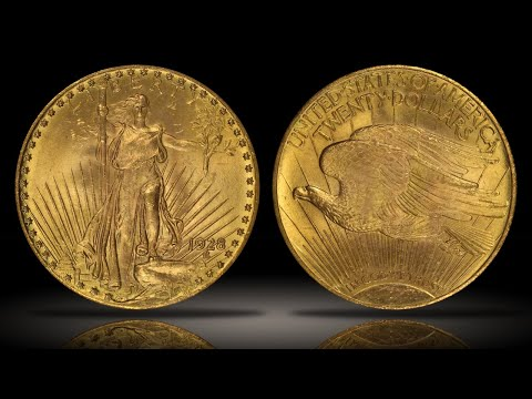 1928 $20 Gold St. Gaudens PCGS MS64 CAC Wonderful Example Of The Popular Double Eagle