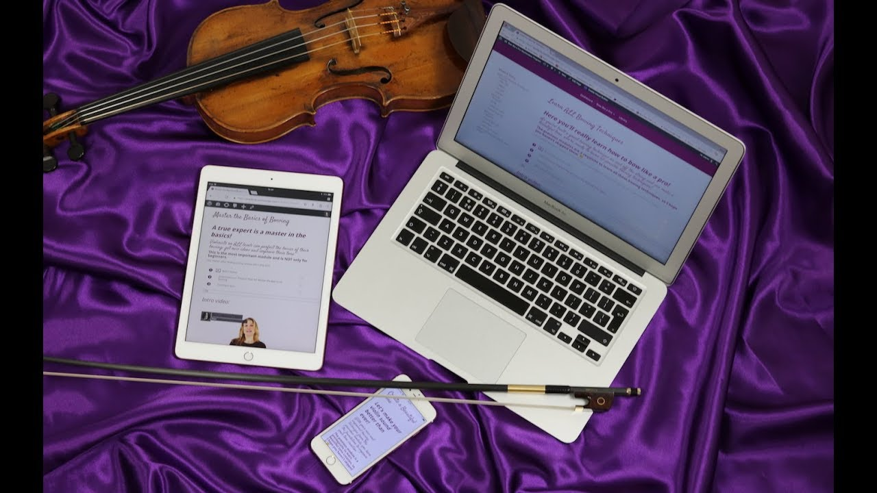 New Online Violin Lessons in Bow like a Pro - Violin Lounge