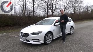 Opel Insignia Sports Tourer 2018 2.0 Turbo 191 kW / 260 PS Fahrbericht, Review, Vorstellung