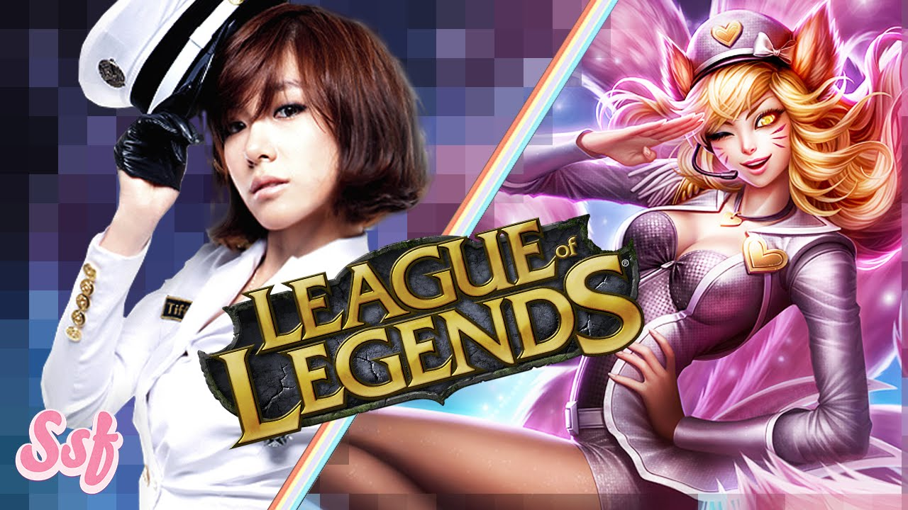 League Of Legends Vs SNSD Girls Generation As LOL Characters L Soshified