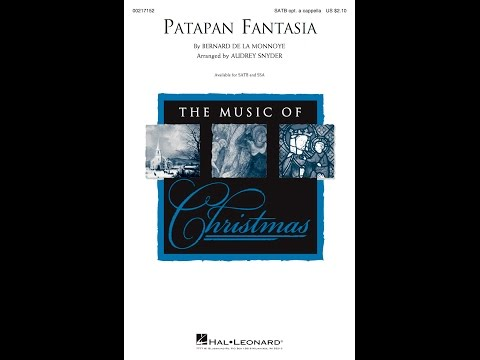 Patapan Fantasia (SATB) - Arranged by Audrey Snyder