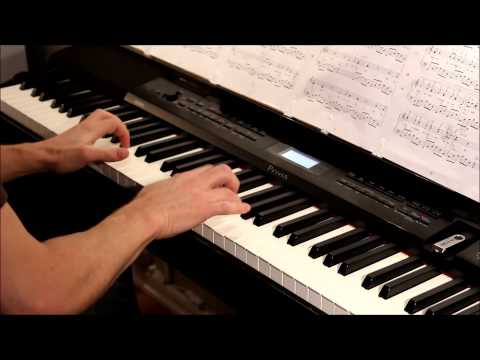 Leonard Cohen  Hallelujah piano  Rufus Wainwright´s version, played on Casio PX350