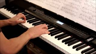 Leonard Cohen - Hallelujah piano cover (Rufus Wainwright´s version), played on Casio PX-350
