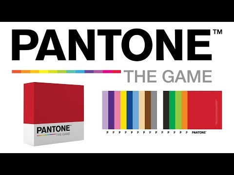 Pantone's board game takes a creative spin on Pictionary!